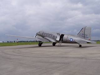 Rosinenbomber auf der ILA - Rosinenbomber, Flugzeug, Berliner Luftbrücke, Berlin, Hilfe