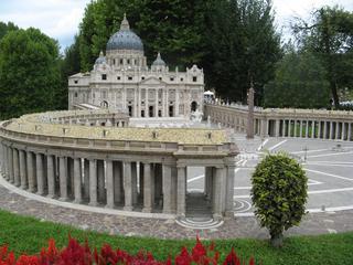Petersdom #2 - Rom, Petersdom, Petersplatz, Kuppelbau, Dom, Kirche, Kollonaden, Basilika St Peter, Petersbasilika, Vatikanische Basilika