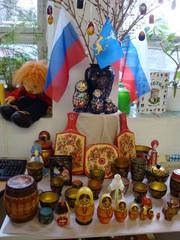 typische russische Motive - russisch, Andenken, Landeskunde