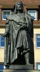 Dürer Denkmal - Dürer, Denkmal, Nürnberg, Maler, Künstler, Grafiker, Mathematiker, Kunsttheoretiker