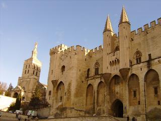 Avignon Palais des Papes - Frankreich, Avignon, Papstpalast, Palais des Papes