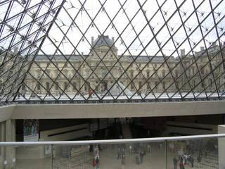 Louvre entrée - Paris, Frankreich, civilisation, Louvre, Museen