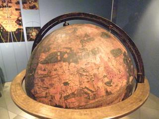 Globus 2 - Globus, Erdapfel, Erdglobus, Erdkugel, Mittelmeer, Beheim, 1492, Nürnberg, Kugel, Umfang