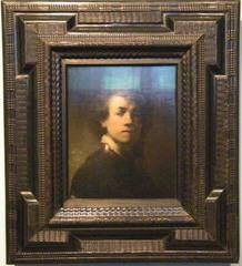 Rembrandt - Rembrandt Harmensz van Rijn, Rembrandt, Maler, 1629, Selbstbildnis, Selbstportrait