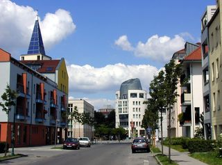 Das Kirchsteigfeld in Potsdam - Architektur, Potsdam, Kirchsteigfeld, Stadtteil, Krier-Kohl, Blockrandbebauung