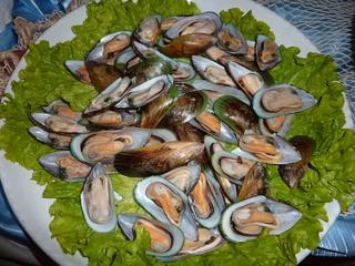 Miesmuscheln - Miesmuscheln, Muscheln, Lebensmittel, Pfahlmuschel
