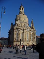 Frauenkirche Dresden - Kirche, Dresden, Frauenkirche, Wiederaufbau, Geschichte, Kunst, evangelisch-lutherisch Kirche, Barock, Sandsteinbau, Sakralbau, Kuppelbau, Sandsteinbau