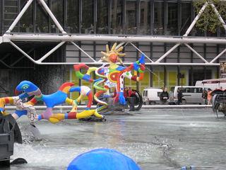 Fontaine Stravinski Feuervogel - Paris, Brunnen, Stravinski, Saint Phalle, Figur