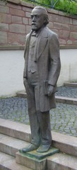 Theodor Storm - Storm, Schriftsteller, Dichter, Heiligenstadt, Richter, Denkmal, Schimmelreiter, Realismus, Lyriker, Autor, Novelle, Prosa, Skulptur