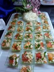Vorspeise Salat mit Fisch - Vorspeise, Salat, Fisch, Fischsalat