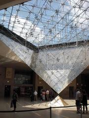 la pyramide inversée - Paris, Louvre, Pyramide, pyramide inversée, Sakrileg, Eingang, Carrousel du Louvre