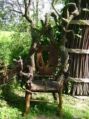 Natur und Kunst - Natur, Wald, Holz, Verarbeitung, Kunst, Fantasie usw.