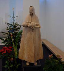 Maria mit dem Kind - Maria, Jesus, Plastik, Holzplastik, Liturgie