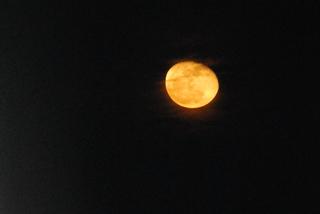 Der Mond - Mond, Nacht, dunkel, Dunkelheit, Himmelskörper