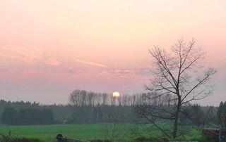 Sonnenuntergang - Wetter, Sonnenuntergang, Horizont, Dämmerung, Stimmung, Atmosphäre, Wolken, Meditation, Himmel, Westen, Abenddämmerung, Schreibanlass