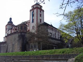 Festung Marienberg Würzburg - Festung, Marienberg, Würzburg, Festung Unser Frauen Berg