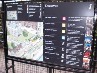 Tower of London - London, Tower, Plan, Übersicht