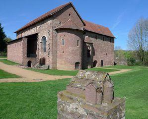 Einhardsbasilika #2 - Einhard, Basilika, Karolingerzeit, Kirchenbau, karolingische Baukunst
