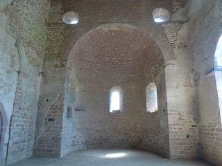 Einhardsbasilika #4 - Einhard, Basilika, Karolingerzeit, Kirchenbau, karolingische Baukunst, Apsis