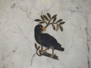 Vogel mit Ölzweig - Vogel, Friede, Ölzweig, Symbol
