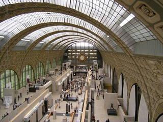 Paris Musée d'Orsay - Paris, civilisation, Museen, musée d'Orsay, Gemälde, Bahnhof, Perspektive