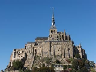 Mont Saint-Michel - Mont Saint-Michel, Normandie, Bretagne, Frankreich, Abtei, Benediktinerkloster, Weltkulturerbe, UNESCO, Welterbe, Jakobsweg