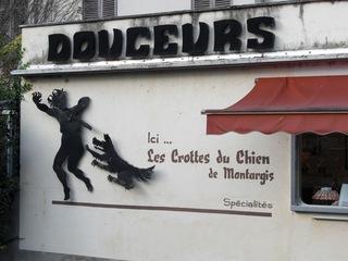 Geschäft in Montargis/Frankreich - Montargis, Frankreich, Geschäft, Spezialität, Legende, Süßigkeit