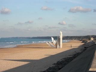 Omaha Beach - Omaha Beach, Normandie, Frankreich, Landung der Alliierten, zweiter Weltkrieg, D-Day