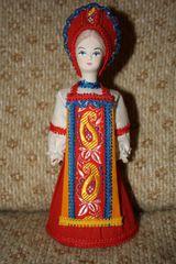 russische Trachtenpuppe #2 - Russland, Souvenir, Figur, Kunsthandwerk, Nationaltracht, Brauchtum, Traditionen, Kleidung