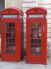 telephone box - England, London, telephone, phone, box, Telefonzelle, englisch, rot, telephone box, phone box, Landeskunde UK, Telephone booths, Telephone Booth, telefonieren, Gespräch, Kommunikation, öffentlich, Münztelefon, Telefon, telefonieren