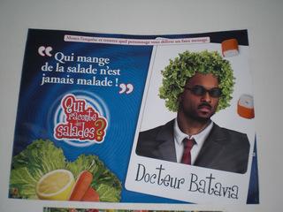Gesunde Ernährung Frankreich - Ernährung, gesund, Frankreich, civilisation, cantine scolaire, salade, manger