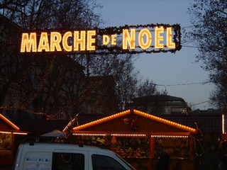 Marché de Noel - Frankreich, civilisation, Avignon, Weihnachtsmarkt, marche de Noel, Dreieck