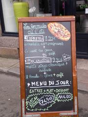 les formules de l'été - Frankreich, civilisation, restaurant, formule, menu, pizza, carte