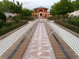 Orientalischer Garten #1 - Garten, Gärten, Berlin, Kulturen, Perspektive, Fluchtpunkt, Orient, Kultur, Ethik, Religion, Landschaftsplanung