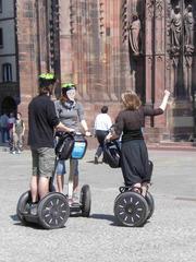 À gyropode par Strasbourg - Frankreich, transport, civilisation, gyropode