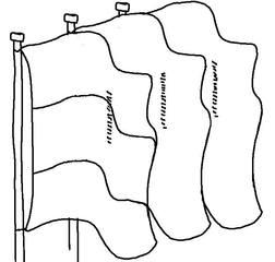 Fahnen #1 - Fahnen, Nomen, Mehrzahl, Plural, Lautbildung, Anlaut F, drei, Flagge, Flaggen