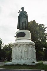 Pskow-Denkmal der Schutzpatronin Olga - Russland, Olga, Denkmal, Schutzpatron, Schutzheiliger, Architektur