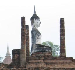 Buddha-Statue#2 - Ethik, Weltreligionen, Buddhismus, Buddha, Südostasien, Thailand, Königreich Sukhothai