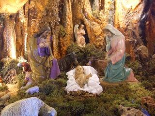 Krippe - Weihnachten, Krippe, Maria, Josef, Jesus, Christkind, Jahreszeiten, Winter, Weihnachtskrippe