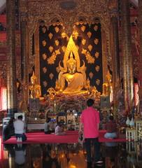 Buddhistischer Tempel - Ethik, Wetreligionen, Buddhismus, Tempel, Südostasien, Thailand, Phitsanulok, Wat Phra Sri
