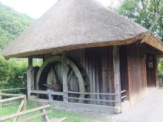 Mühle - Schwarzwald, Vogtsbauernhof, Bauernhof, Landwirtschaft, Gutach, Schwarzwaldhaus, Mühle, Mühlrad, Wasserrad