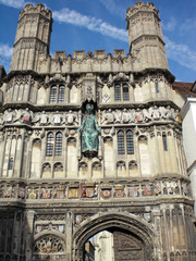 Canterbury Cathedral#1 - England, Canterbury, cathedral, Kathedrale, Eingang, entrance, Weltkulturerbe, UNESCO
