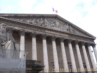 Assemblée nationale - Frankreich, civilisation, Paris, assemblée nationale, Nationalversammlung, Palais Bourbon, Republik, Parlament, Unterhaus, französisches Parlament