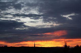Abendhimmel - Himmel, Stimmung, Abend, Wolken, Sonnenuntergang, Himmel, Meditation, Horizont, Himmelserscheinung, Sonne, Abendrot