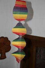 Windspiel Spirale - Spirale, Physik, Unruhe, Windspiel, Schneckenlinie, Kurve, Punkt, Achse, Laufrichtung