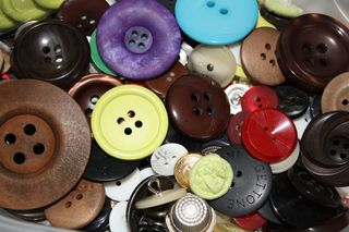 Blick in die Knopfkiste - Knopf, nähen, Kleidung, Verschluss, Bekleidung, Zierde