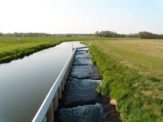 Wehr#4 - Wehr, Fischtreppe, Wasserbau, Wasser, Stauanlage, Fluss, Flusslandschaft, Stauwehr, Stauwerk, Wuhr
