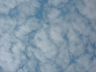 Wolken - Wolke, Wolken, Hintergrund, weiß, blau, Wetter, Luft, Atmosphäre, Schreibanlass, Hintergrund, Wallpaper, Layout