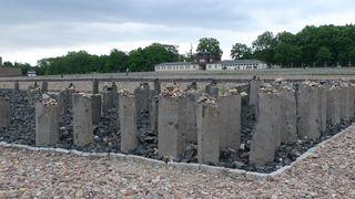 Basaltstelen im Konzentrationslager Buchenwald - Buchenwald, Drittes, Reich, SS, Konzentrationslager, Verfolgung, Weimar, Geschichte, Nationalsozialismus, Vernichtung