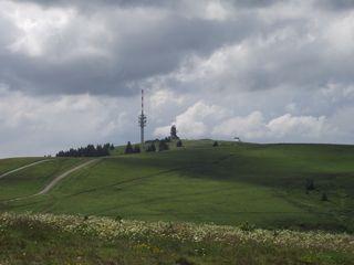 Feldberg - Feldberg, Schwarzwald, Wetterstation, Funkanlage, Funkmast